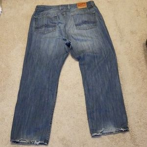 Lucky Brand Jeans straight boot cut Mens 38x32